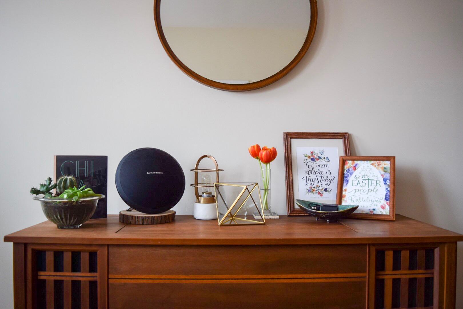 mid-century-modern-spring-home-decor