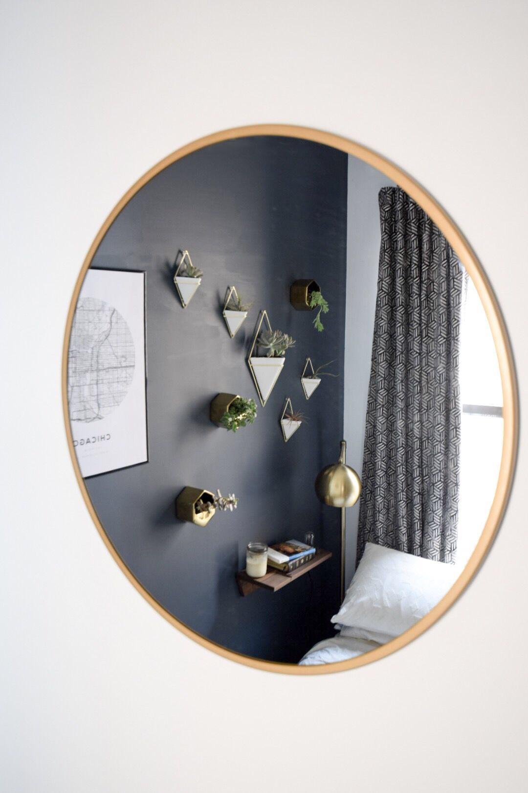 target-round-gold-mirror