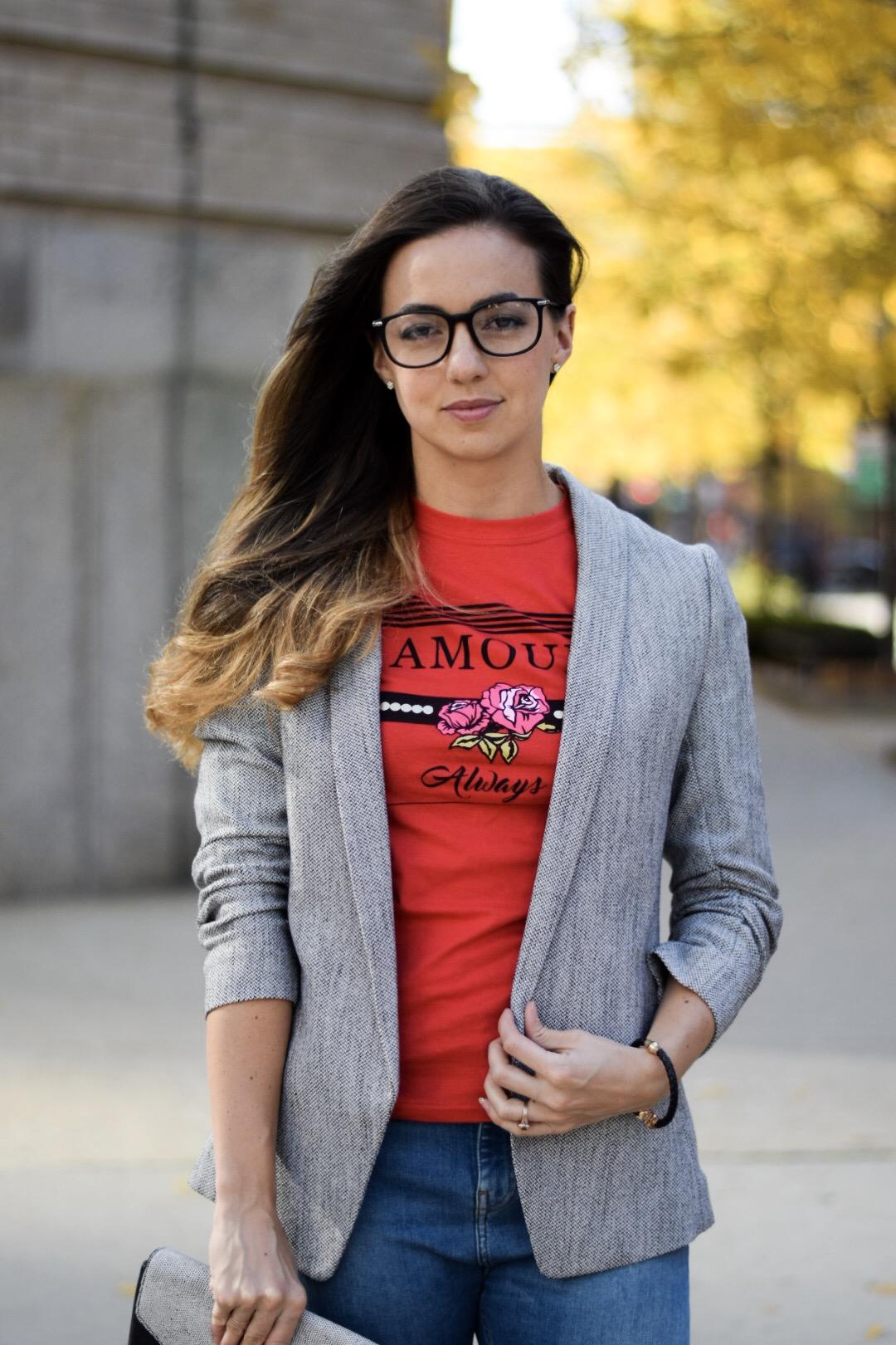 trendy-ruched-sleeve-blazer