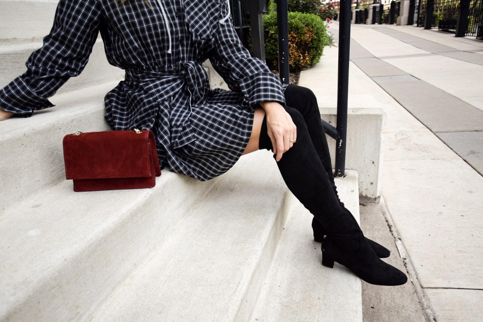 storets-checkered-dress