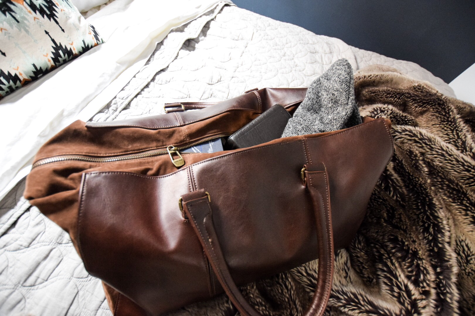 leather-suede-weekender-bag