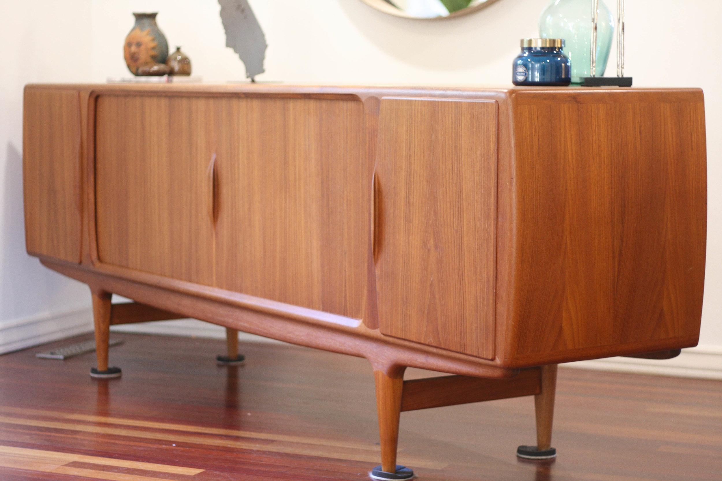 Johannes Andersen Model 19 Teak Sideboard Sold Mid And Mod