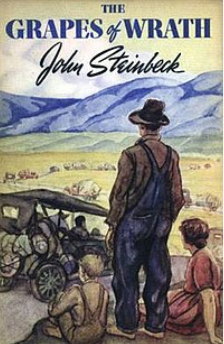 """The Grapes of Wrath"" (1938) by John Steinbeck"