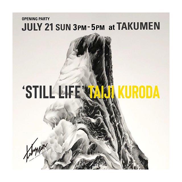 "We are pleased to announce that a new exhibition ""STILL LIFE"" - by Taiji Kuroda @taijikuroda will start at TakuMen from 7/21(sun). Opening reception will be held at 3-5pm on 7/21(sun), everyone is welcome! #newexhibition #artexhibition #stilllife #tomahawk #steak #meat  #drawing #notphotography #gallery #summer #taijikuroda #takumenart @takumenlic #longlslandcity #lic"
