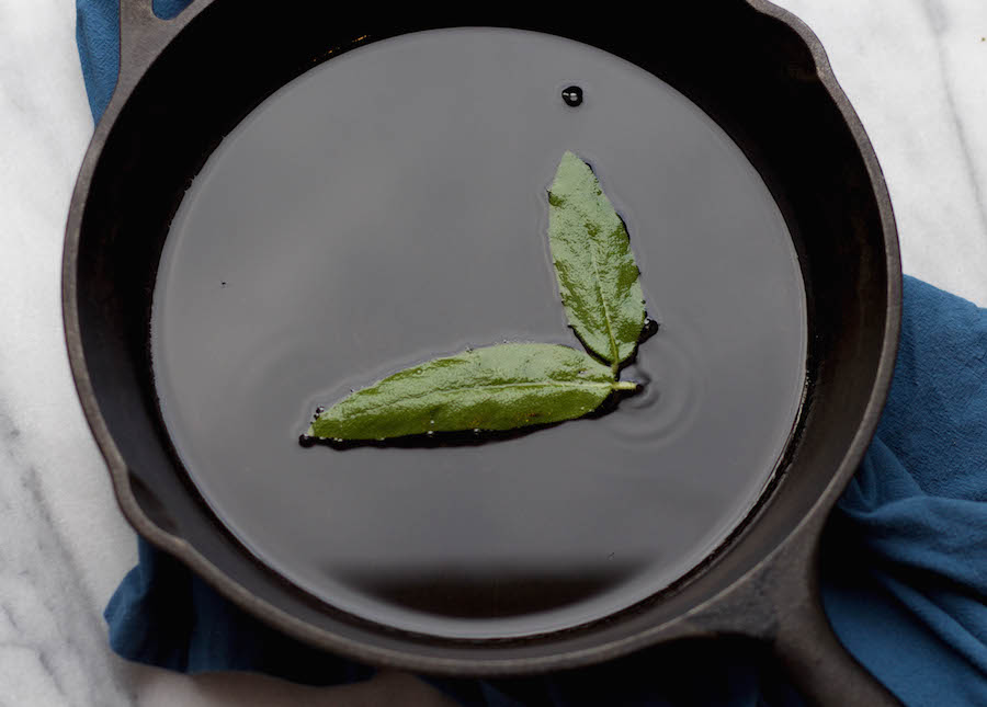 How to Crisp Sage