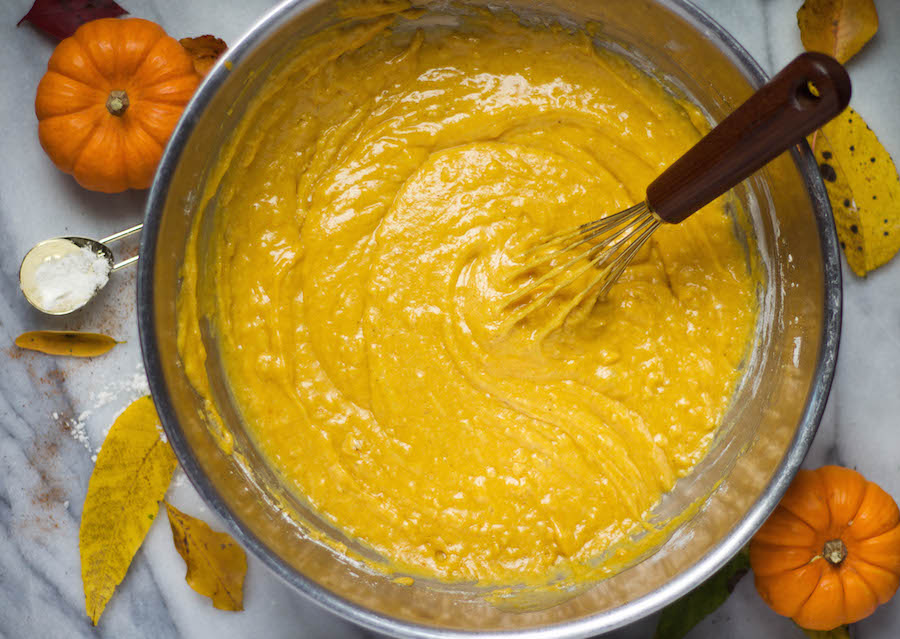 Pumpkin Spice Muffin Batter