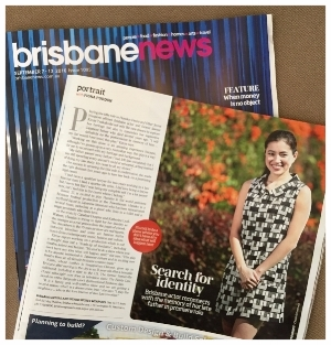 Kimie Tsukakoshi features in Brisbane News Sept 2016