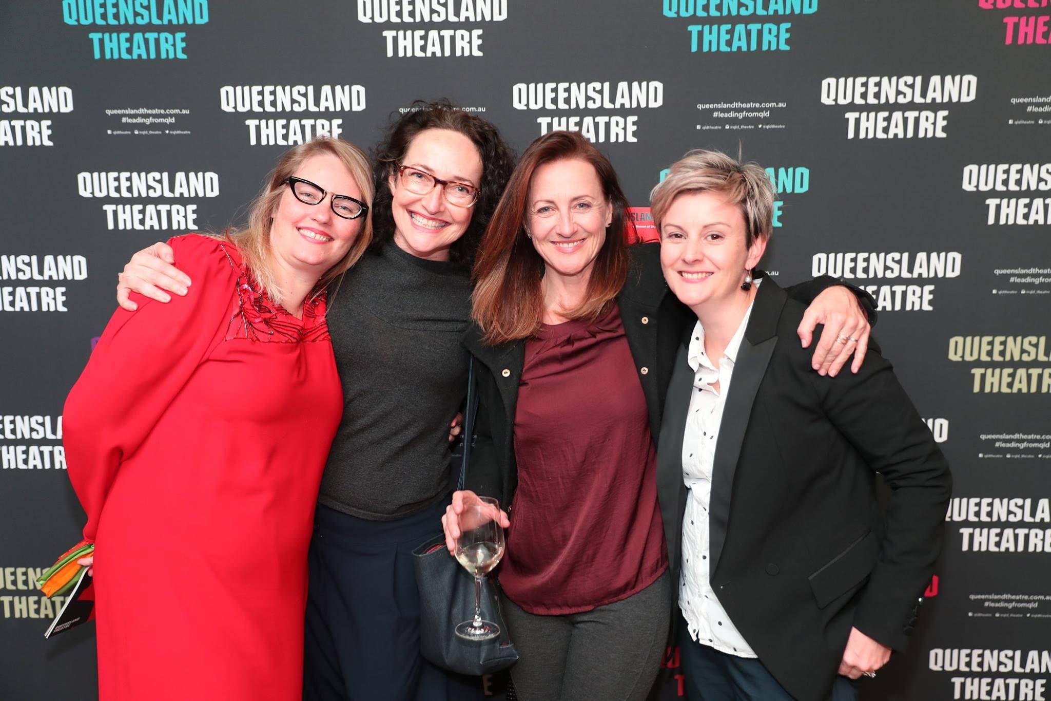 Kathryn Kelly, Katherine Lyall-Watson, Caroline Dunphy & Danielle Shankey.