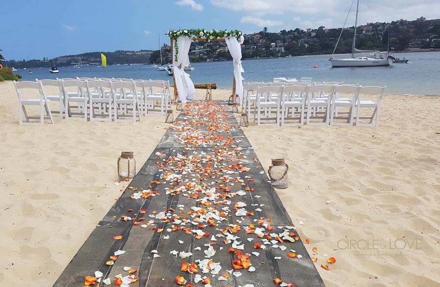 Clontarf Reserve, Clontarf Wedding Ceremony