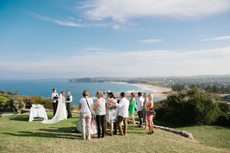 Mona Vale Headland Wedding Ceremony