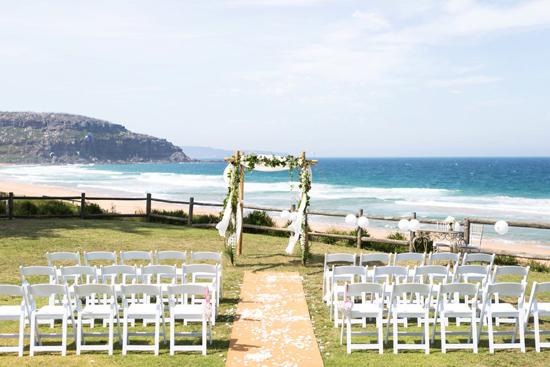Palm Beach Wedding Ceremony