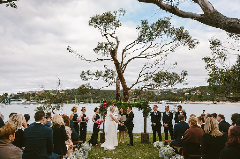 Balmoral Beach Wedding Ceremony