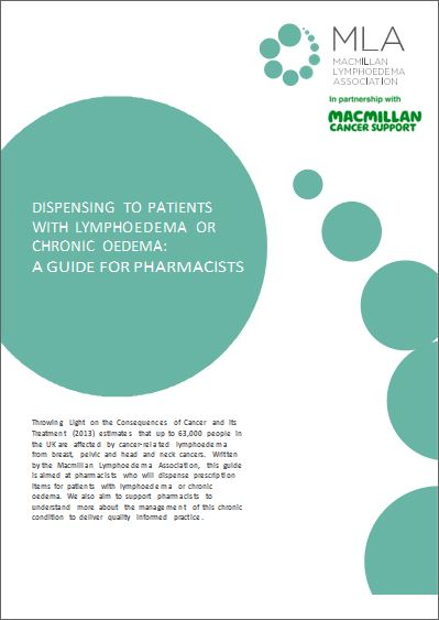 Pharmacy Tips - MLA produced this guide with top 10 tips aimed at Pharmacists who dispense prescription items to patients with lymphoedema or chronic oedema. It also supports Pharmacists to understand more about the management of this condition helping them deliver quality informed practice.