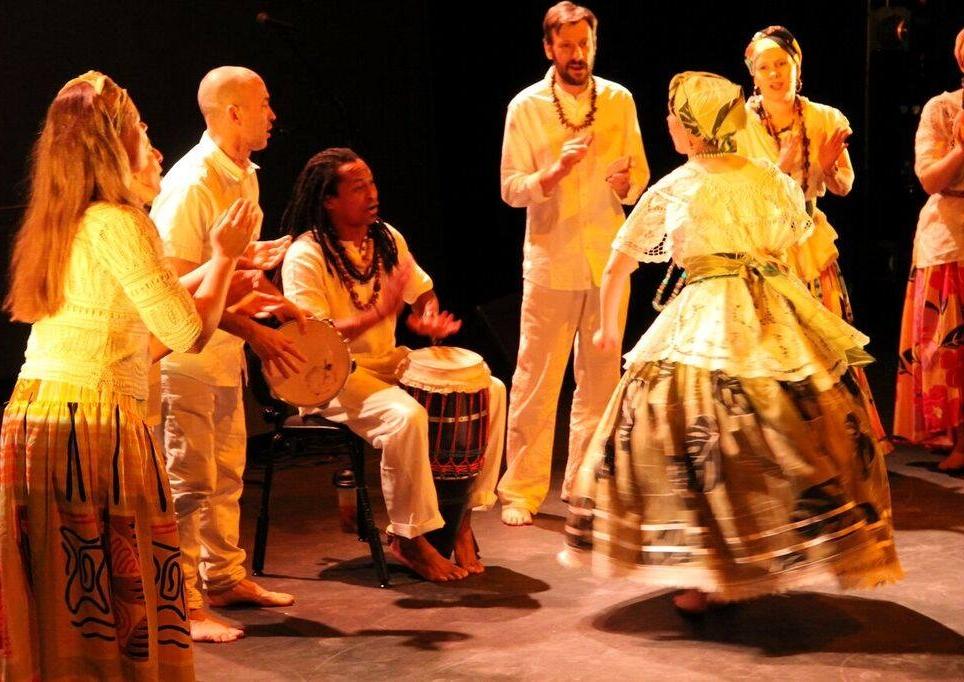 Samba de roda with Tambor Vivo in Latin Folk night II(photo by Jana Ruf)