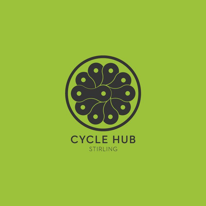 CycleHub Stirling Branding