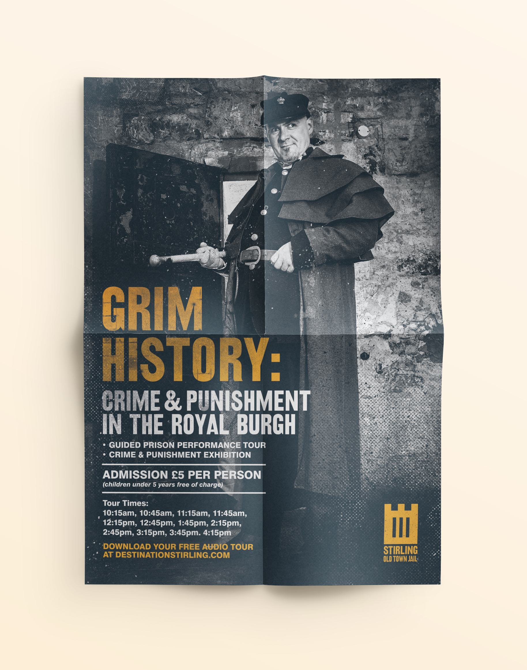Stirling Old Town Jail Promotional Poster