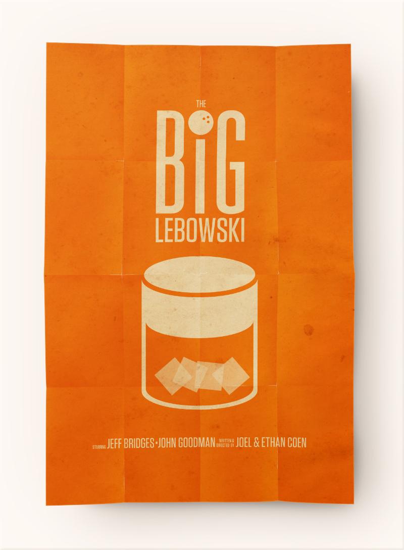 Big Lebowski Movie Poster