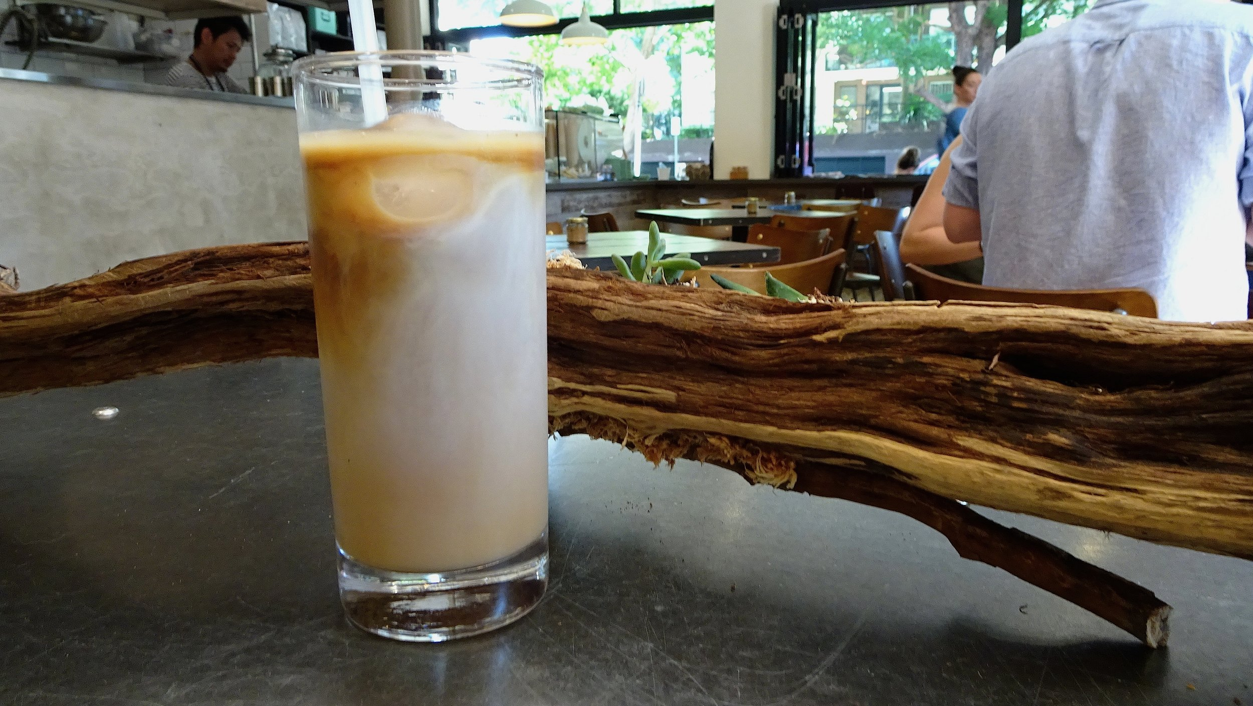 Cafe Kentaro Surry Hills Sydney Iced Coffee