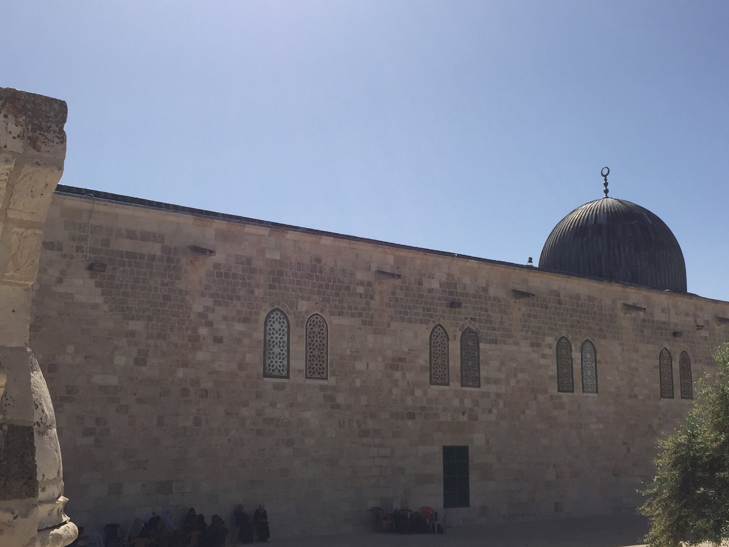 Matthew Williams/The Conflict Archives: The Al-Aqsa Mosque, the third holiest site in Islam.
