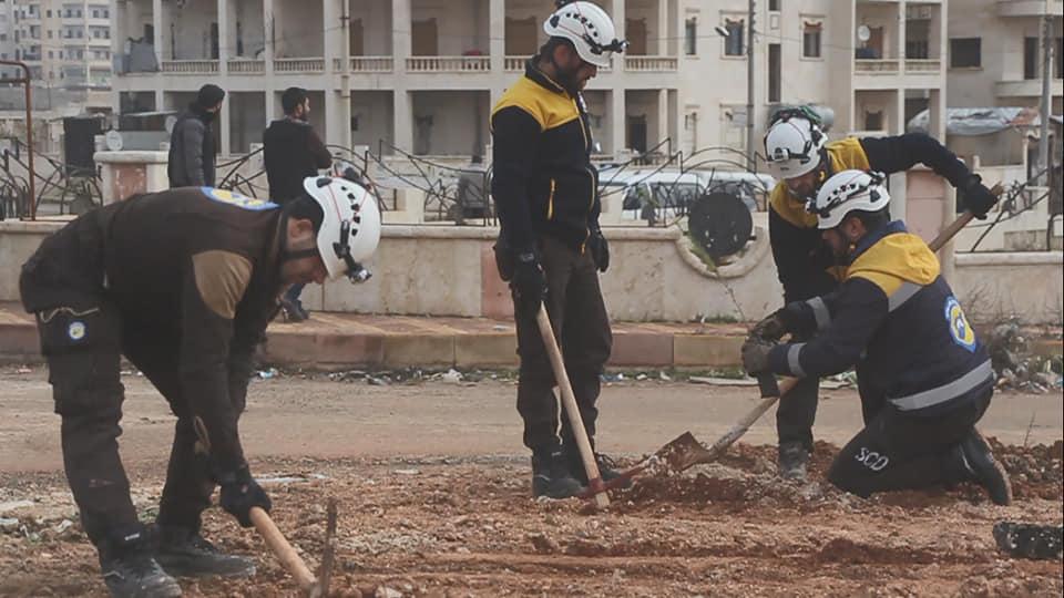 Image  via  White Helmets: @SyriaCivilDef