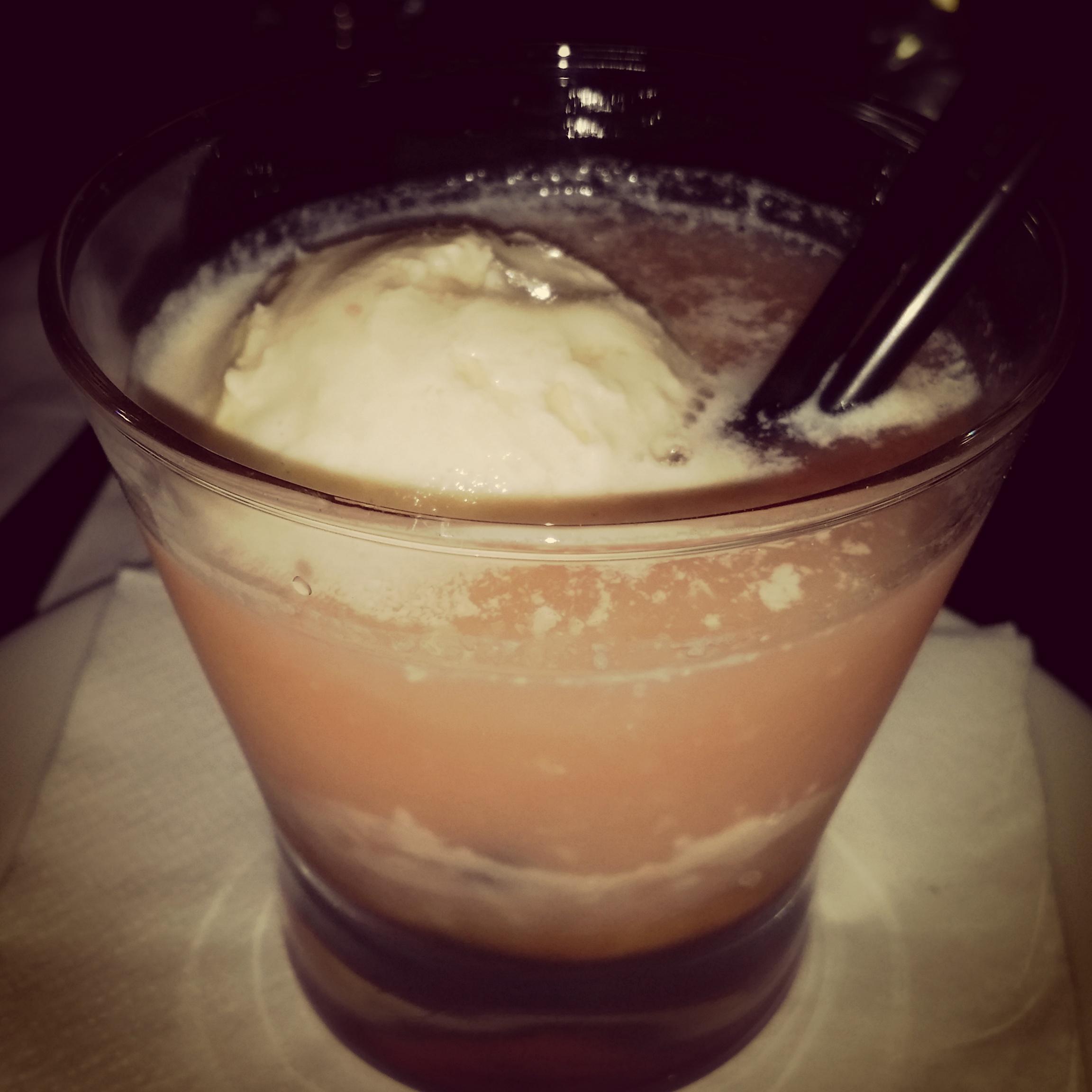 whiskey float