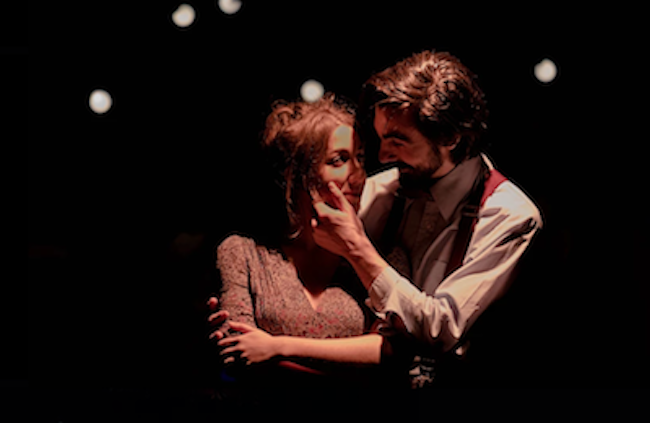 "Anaëlle Queuille et Anthony Ponzio dans ""Platonov"" © Olivia Baumlé"