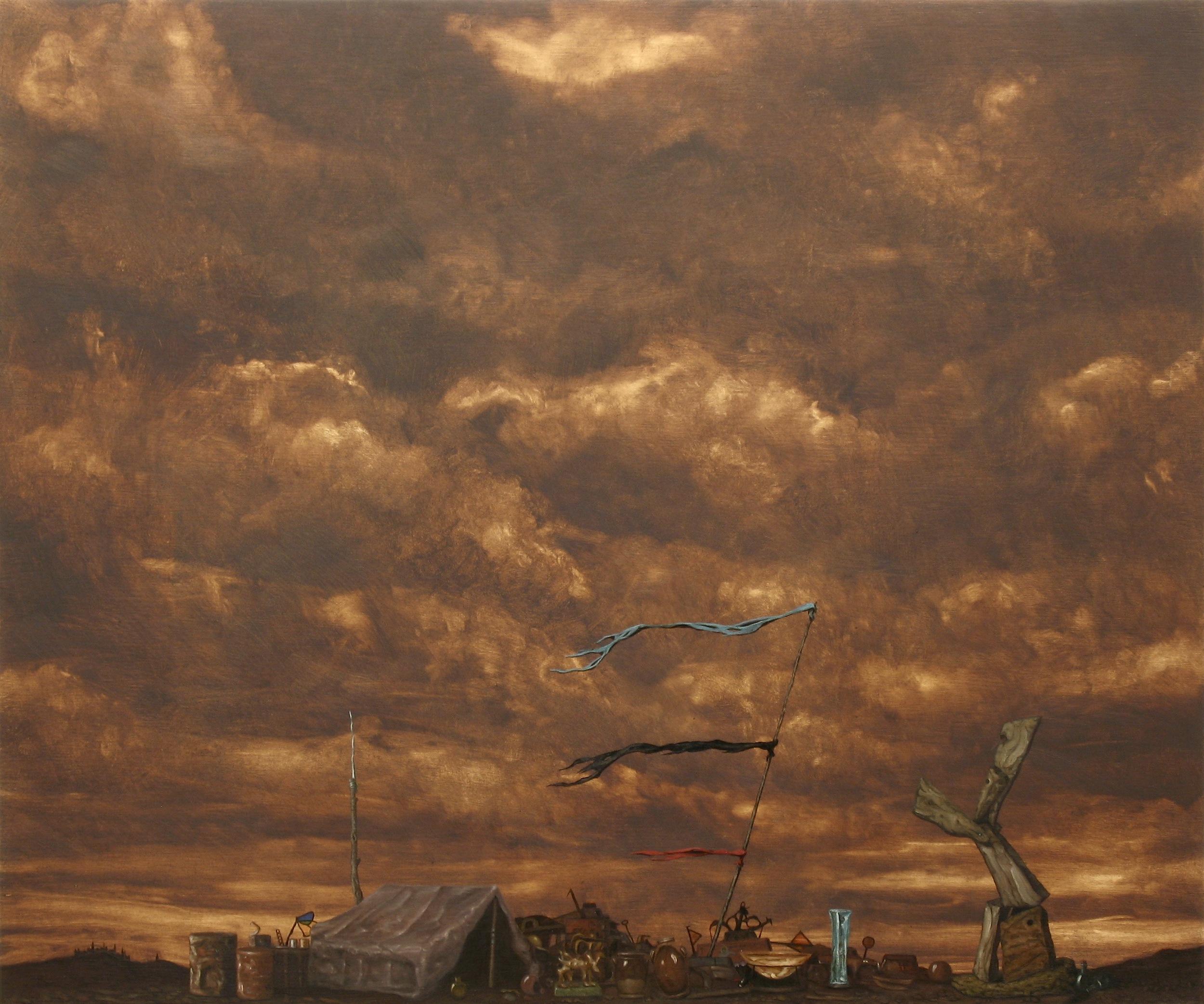 Tempestas, Oil on wood panel, 60x50cm, 2010