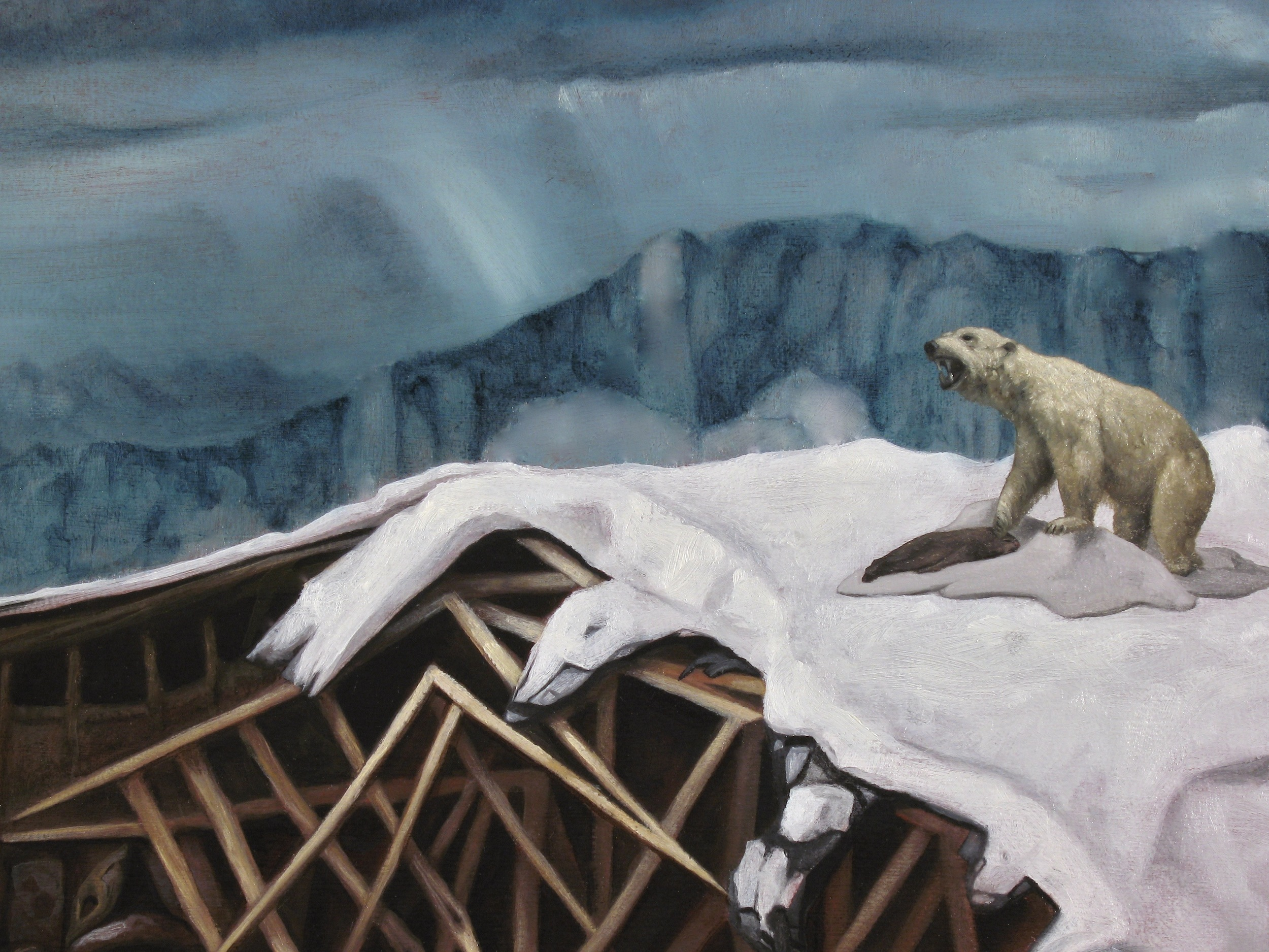 Snowfall (detail )