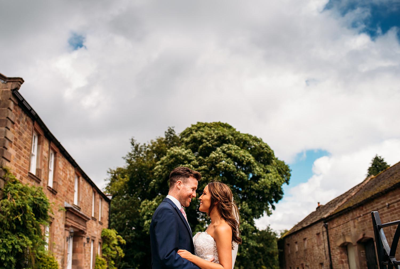 colour photo, happy couple