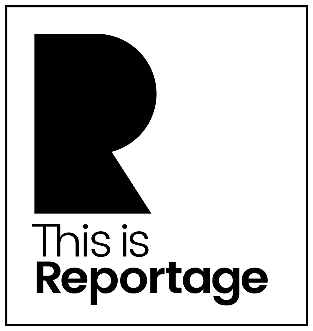 This is Reportage member and award badge