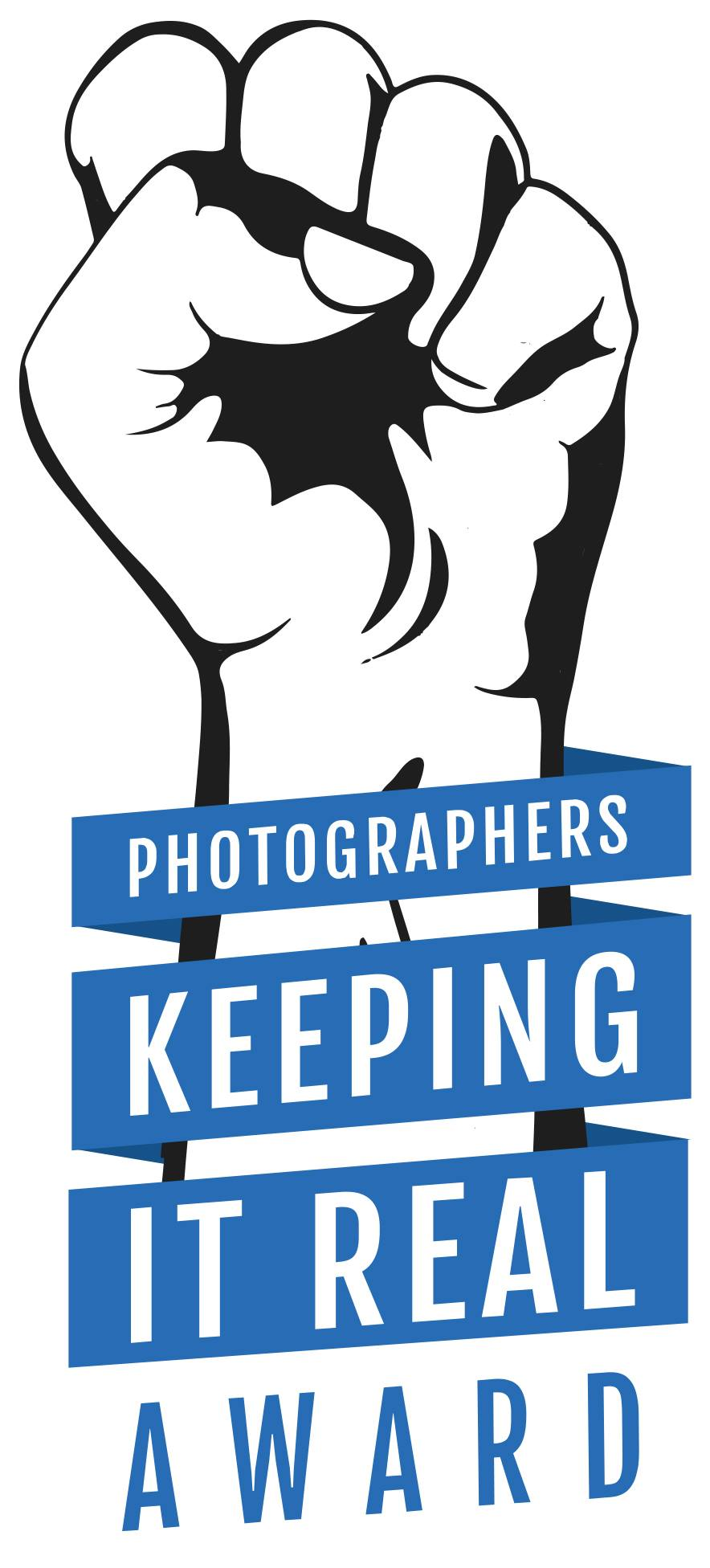 Photographer keeping it real award badge