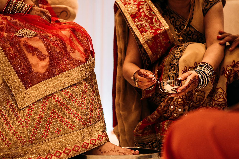 Indian detail shot