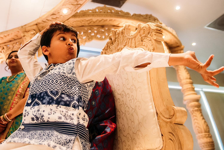 boy doing a dance
