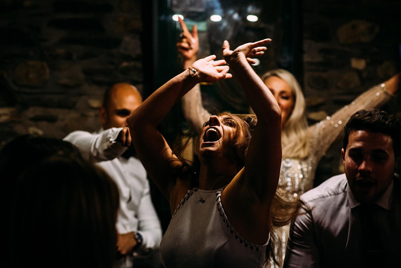 guests dance off