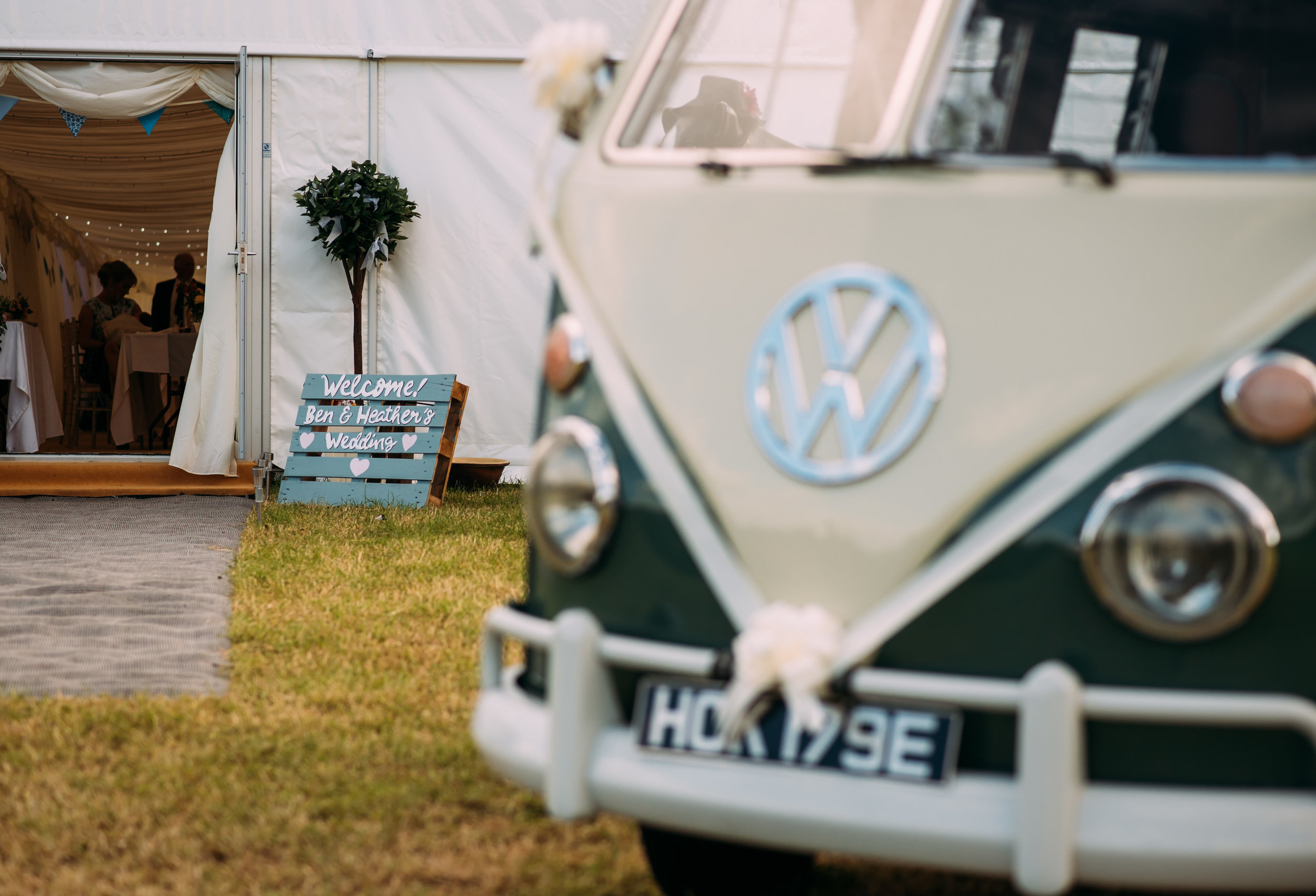 the vw camper van and the order of the day