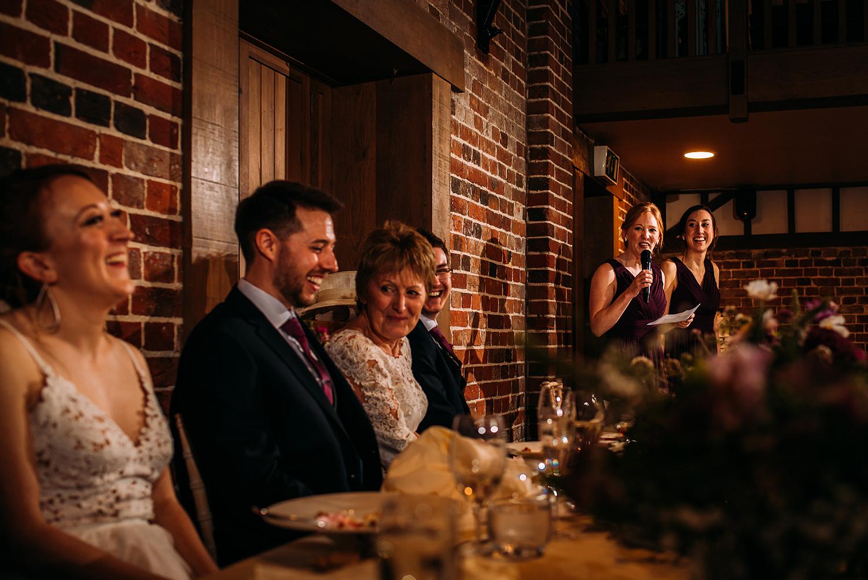 bridesmaids speech