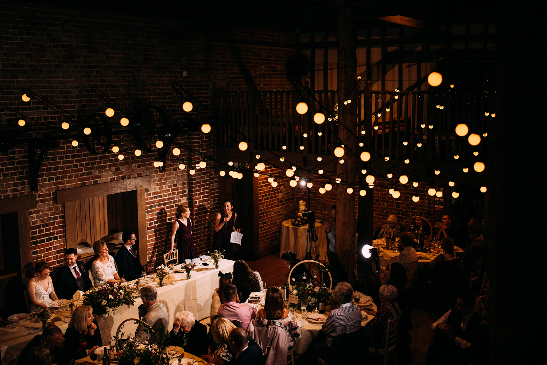 bridesmaids speech from above