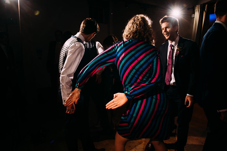 guest doing the 'floss' dance
