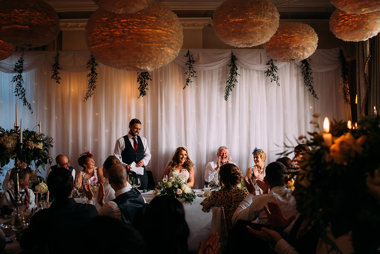 groom speech at falcon manor