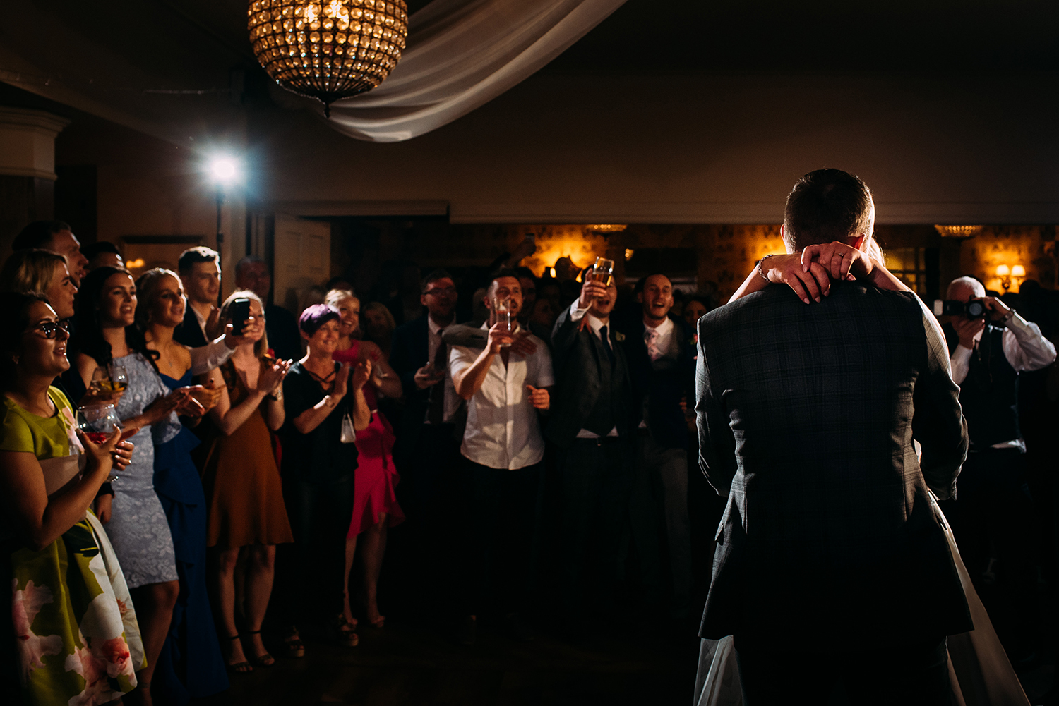 bride and groom first dance at the Shireburn Arms