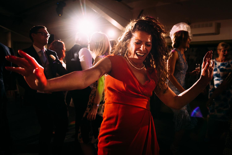 dancing at Bashall Barn