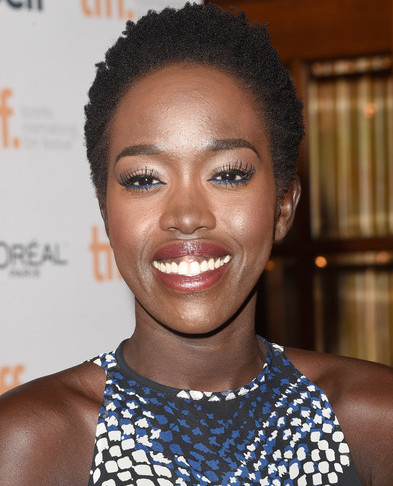 Kuoth Wiel,refugee, actress, model and humanitarian. based in LA. Actress in The Good Lie