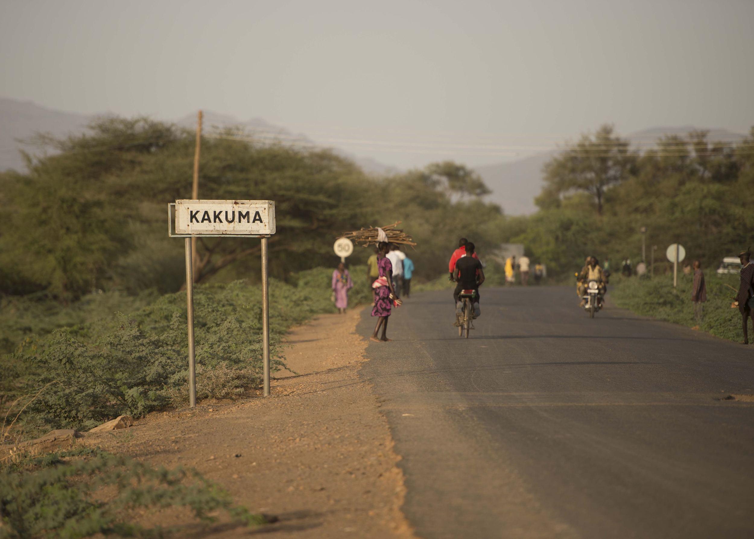This is Kakuma image: Jjumba Martin