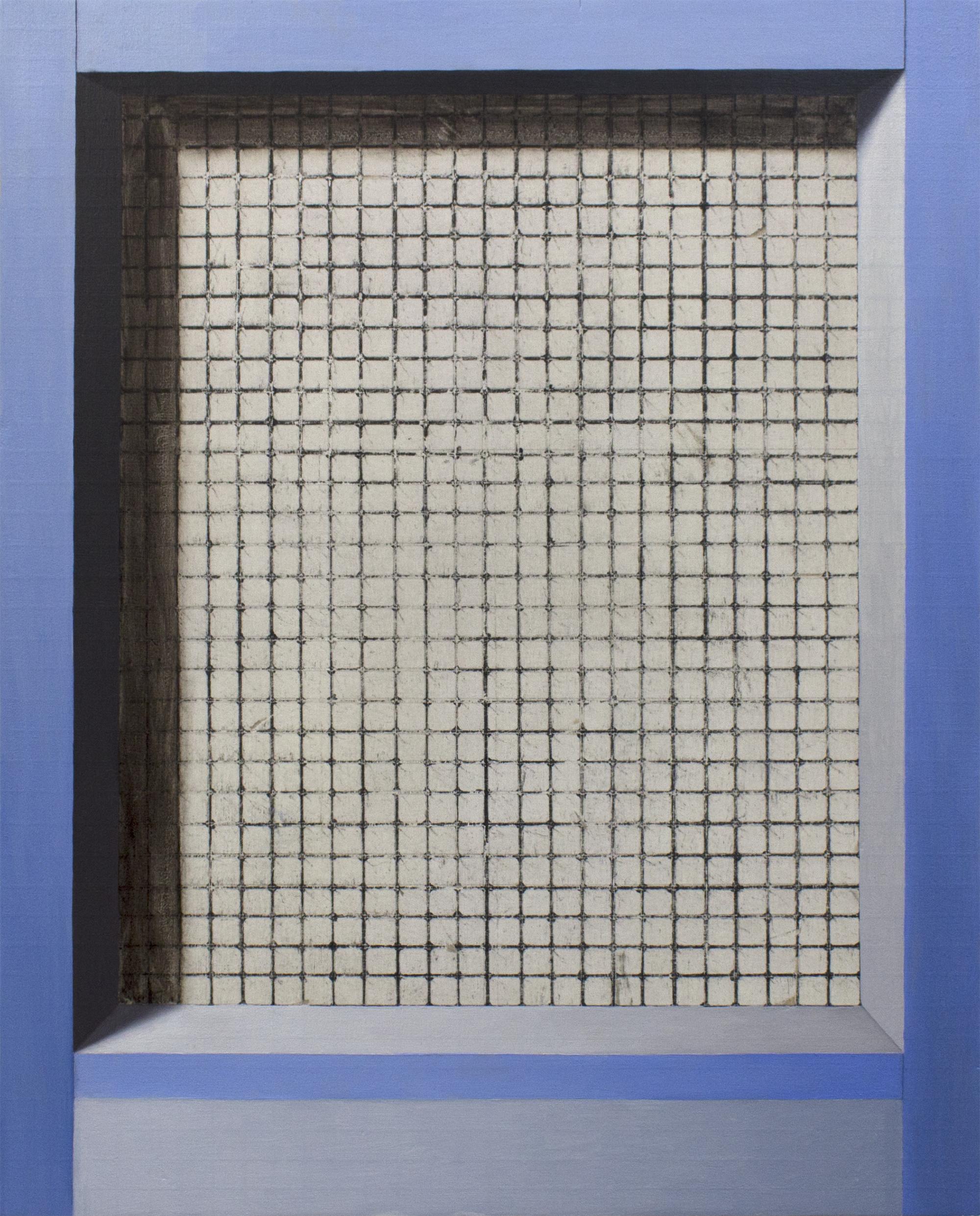 Threshold (Tile)  2018  Oil on wood panel  10 x 8 in