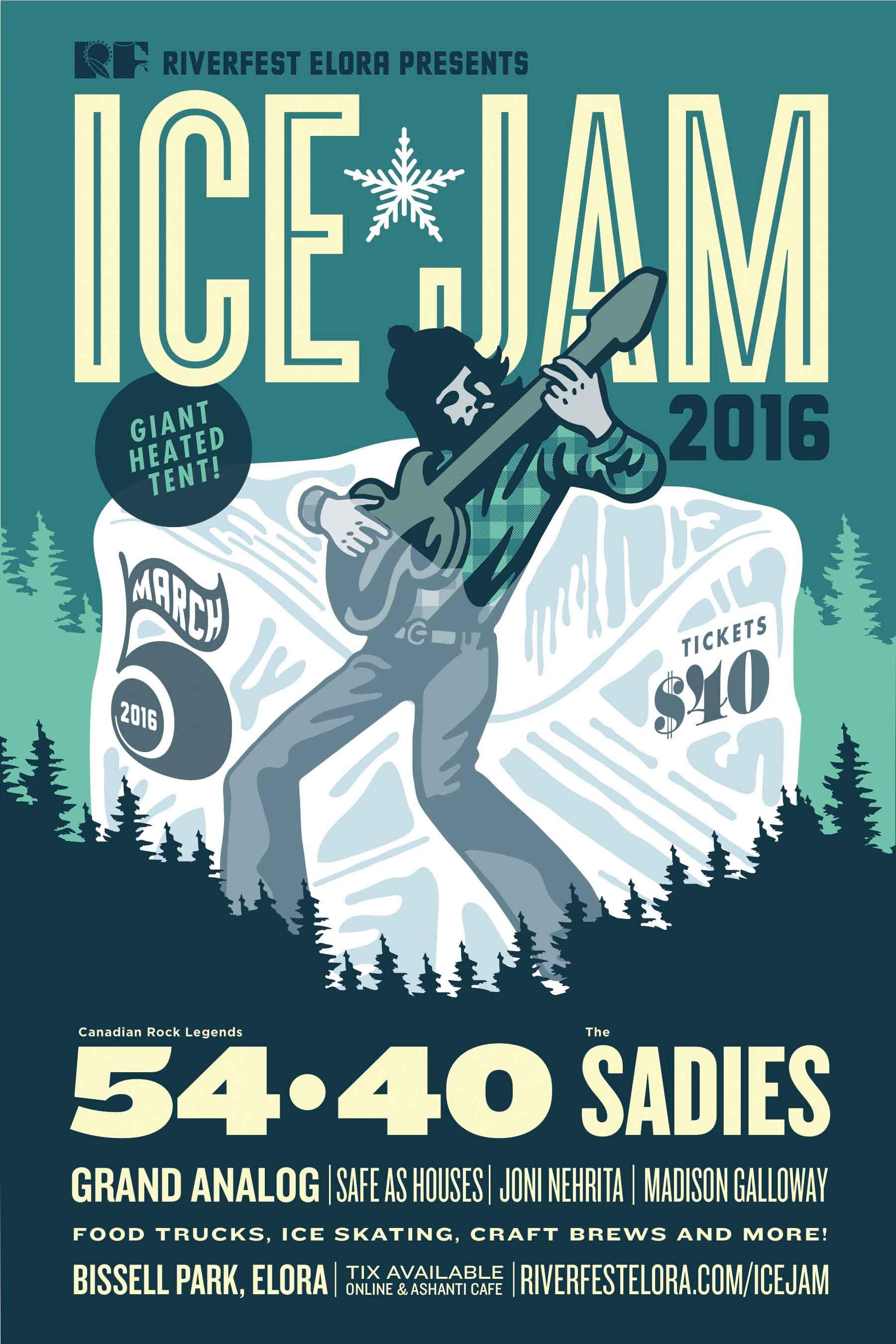 Riverfest Elora's Ice Jam 2016