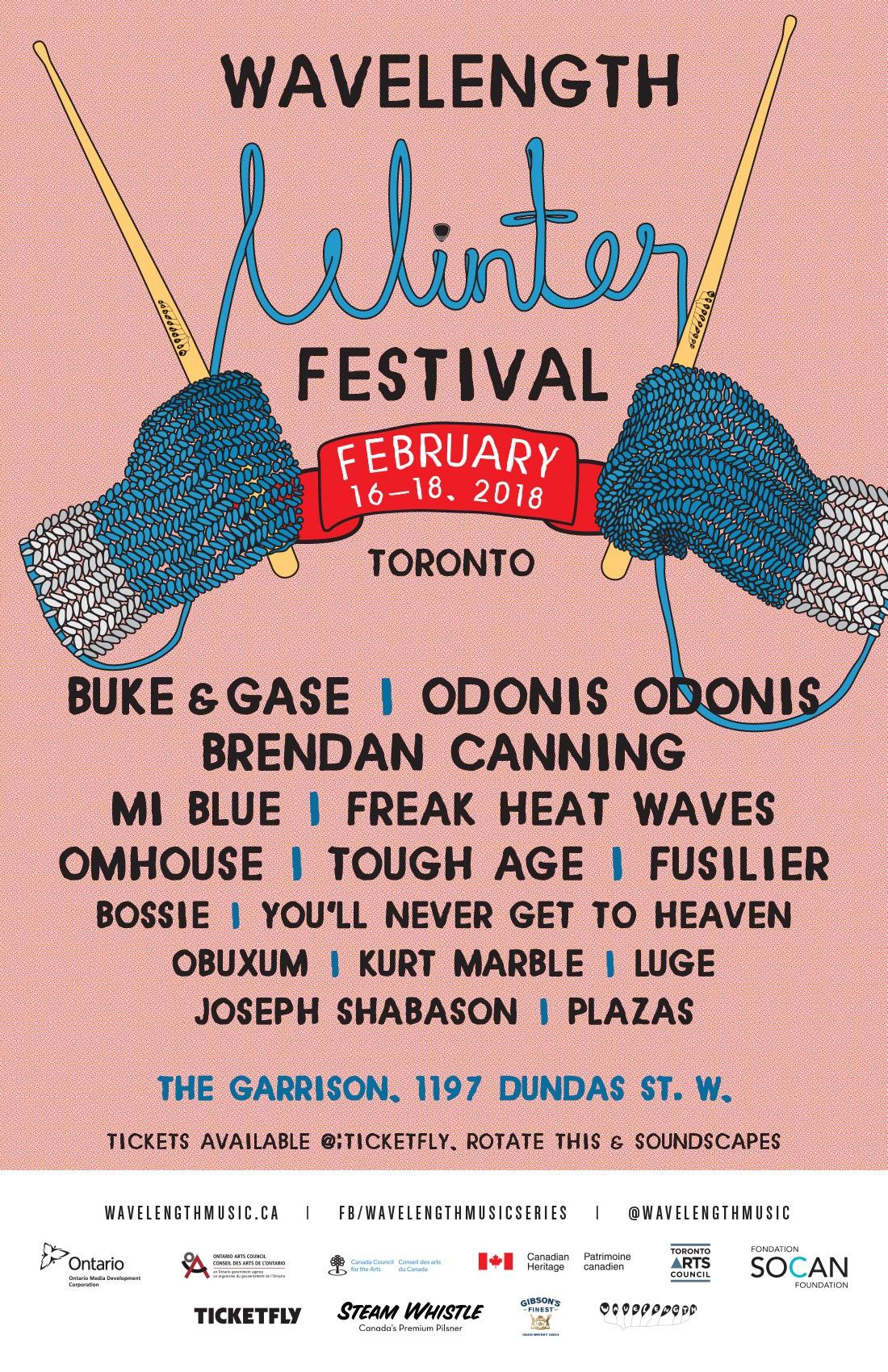 Wavelength Winter Festival 18