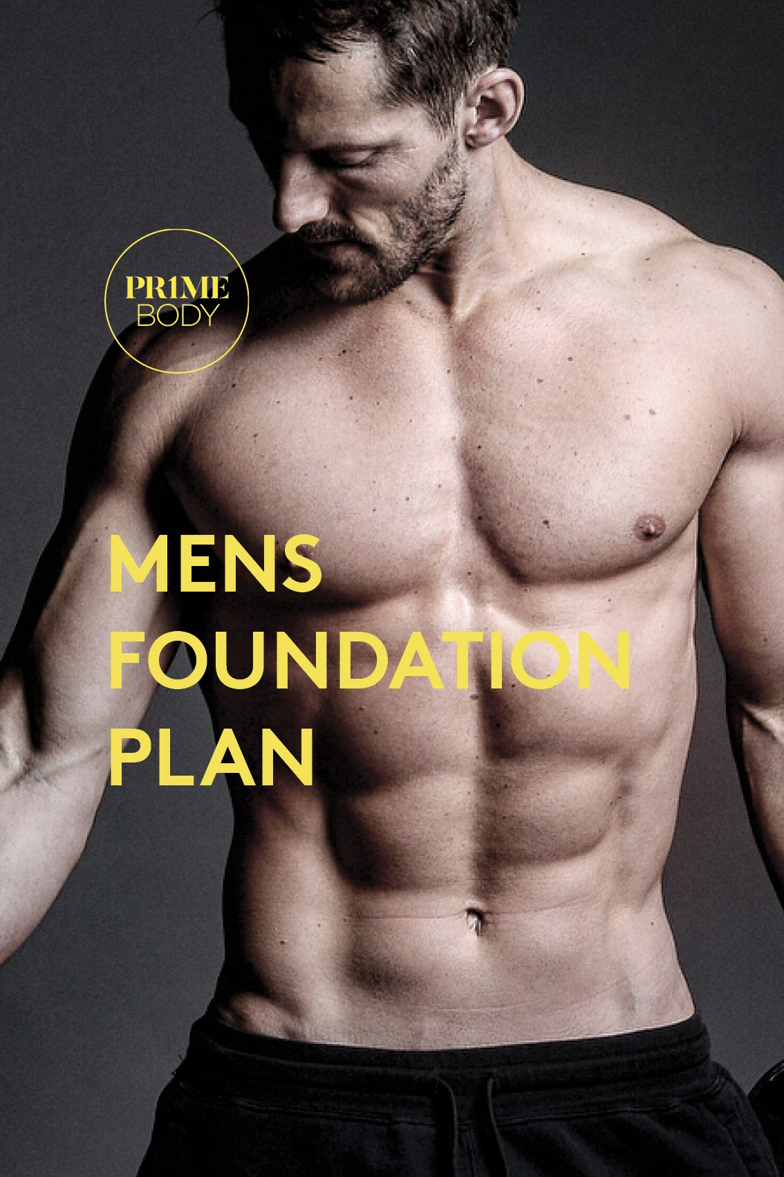 MEN'S 12 WEEK FOUNDATION PLAN