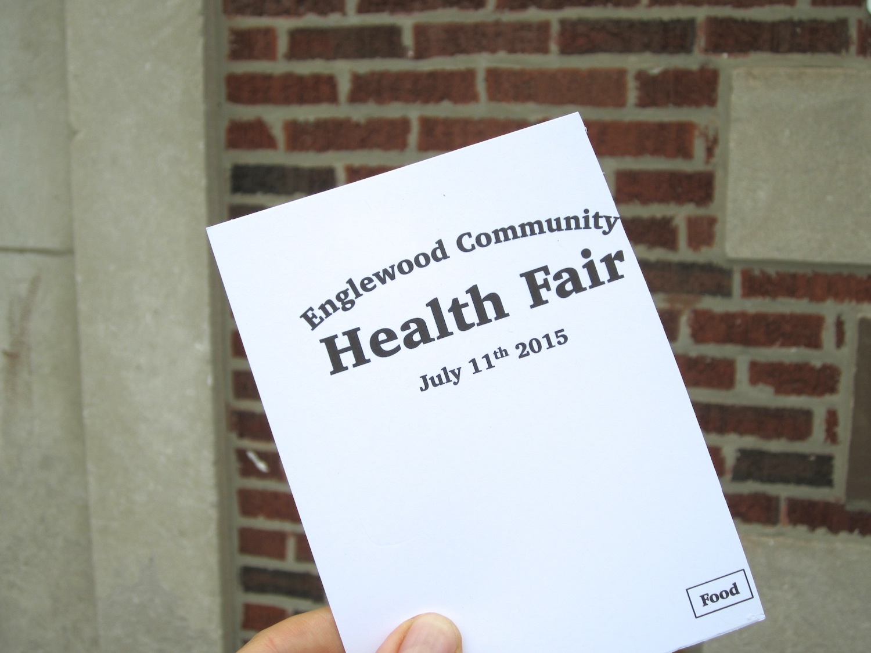 Reiki at the community health fair.