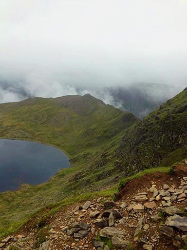 Striding Edge, Lake District, UK