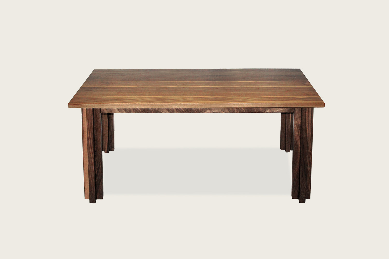 Cross Dining Table in solid walnut - Speke Klein